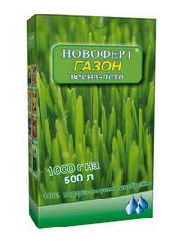 novofert Как правильно подобрать удобрение для газона. Иллюстрированное пособие для садоводов.