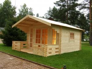 Небольшие домики для дачного участка своими руками.